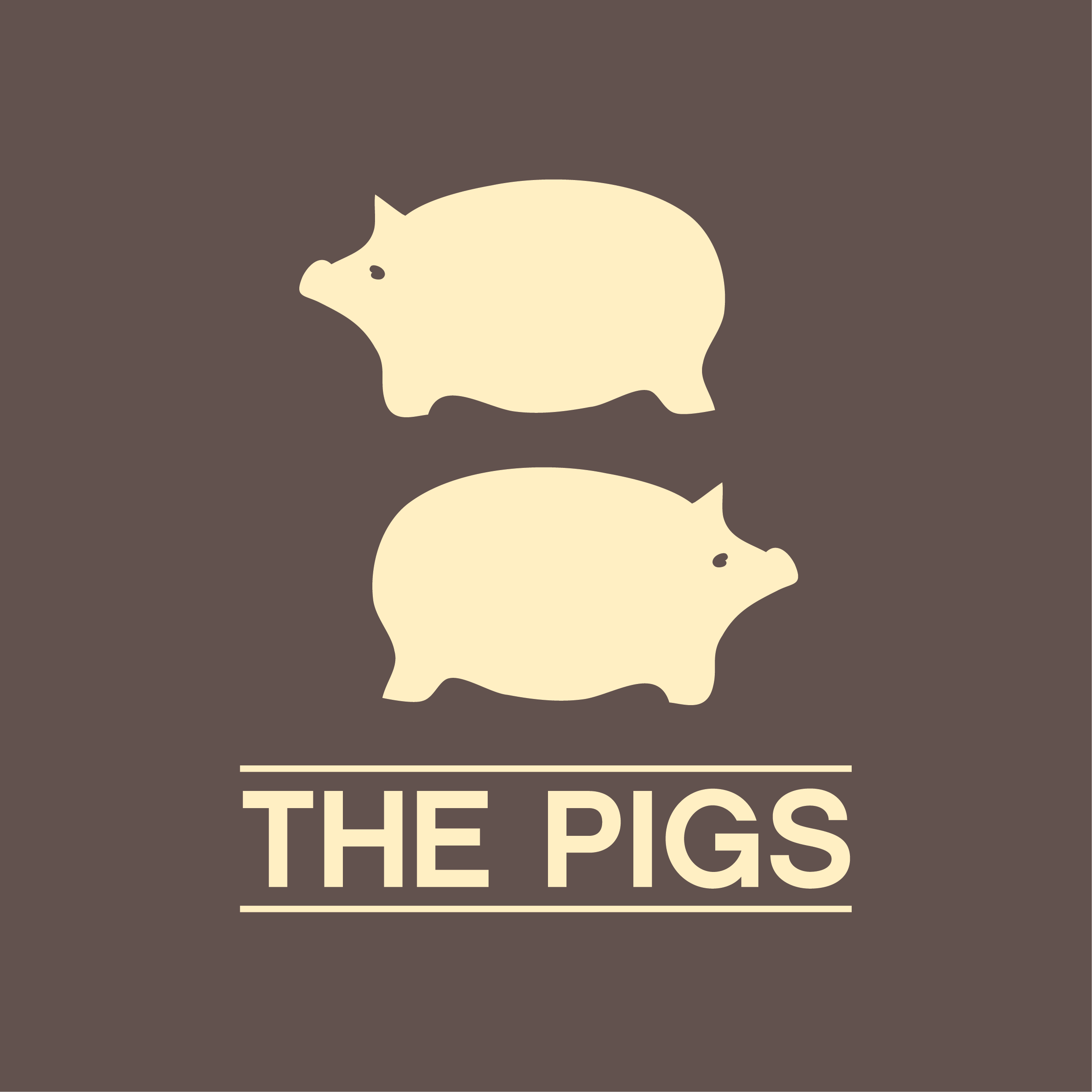 The Pigs Square Logo No Location