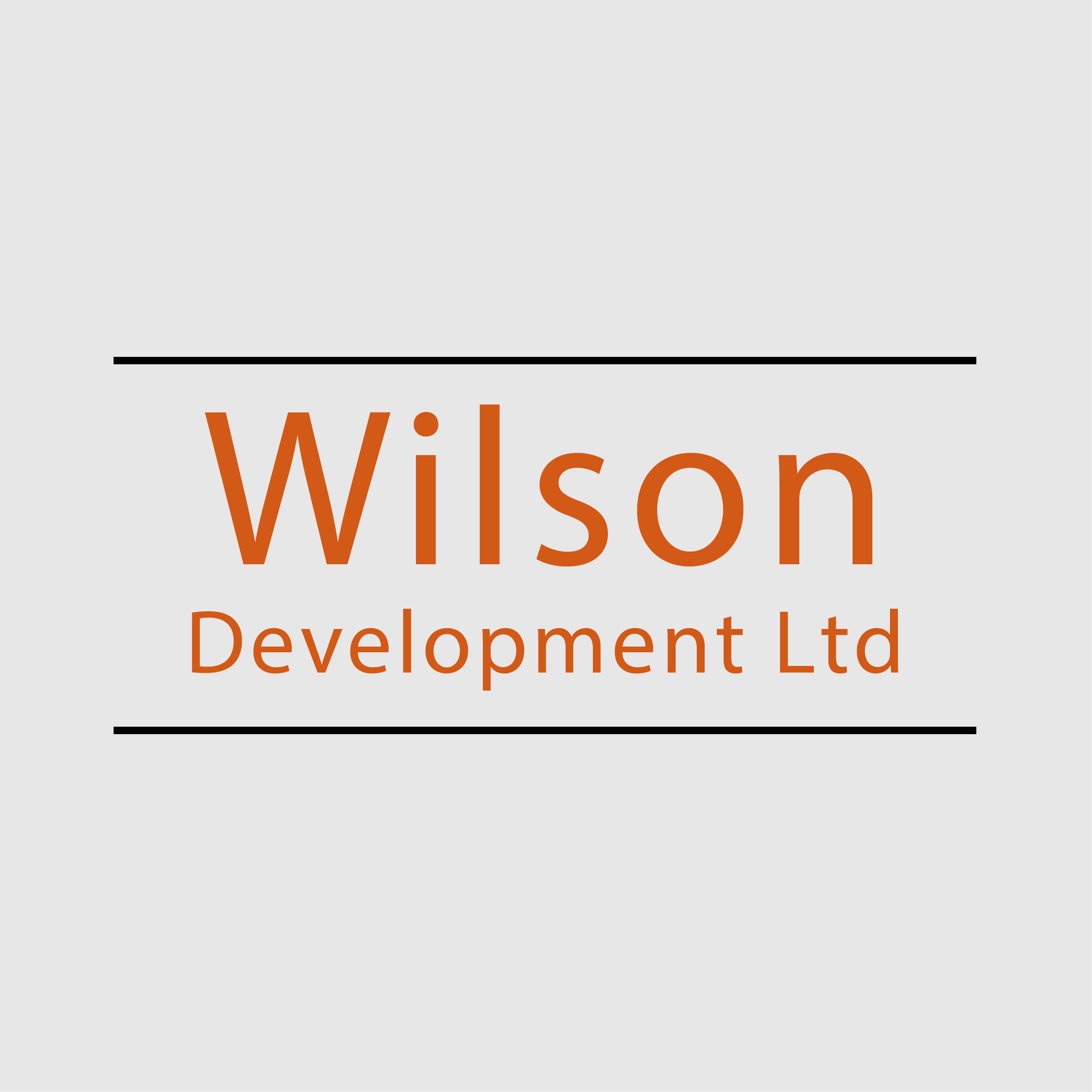 Wilson Development logo